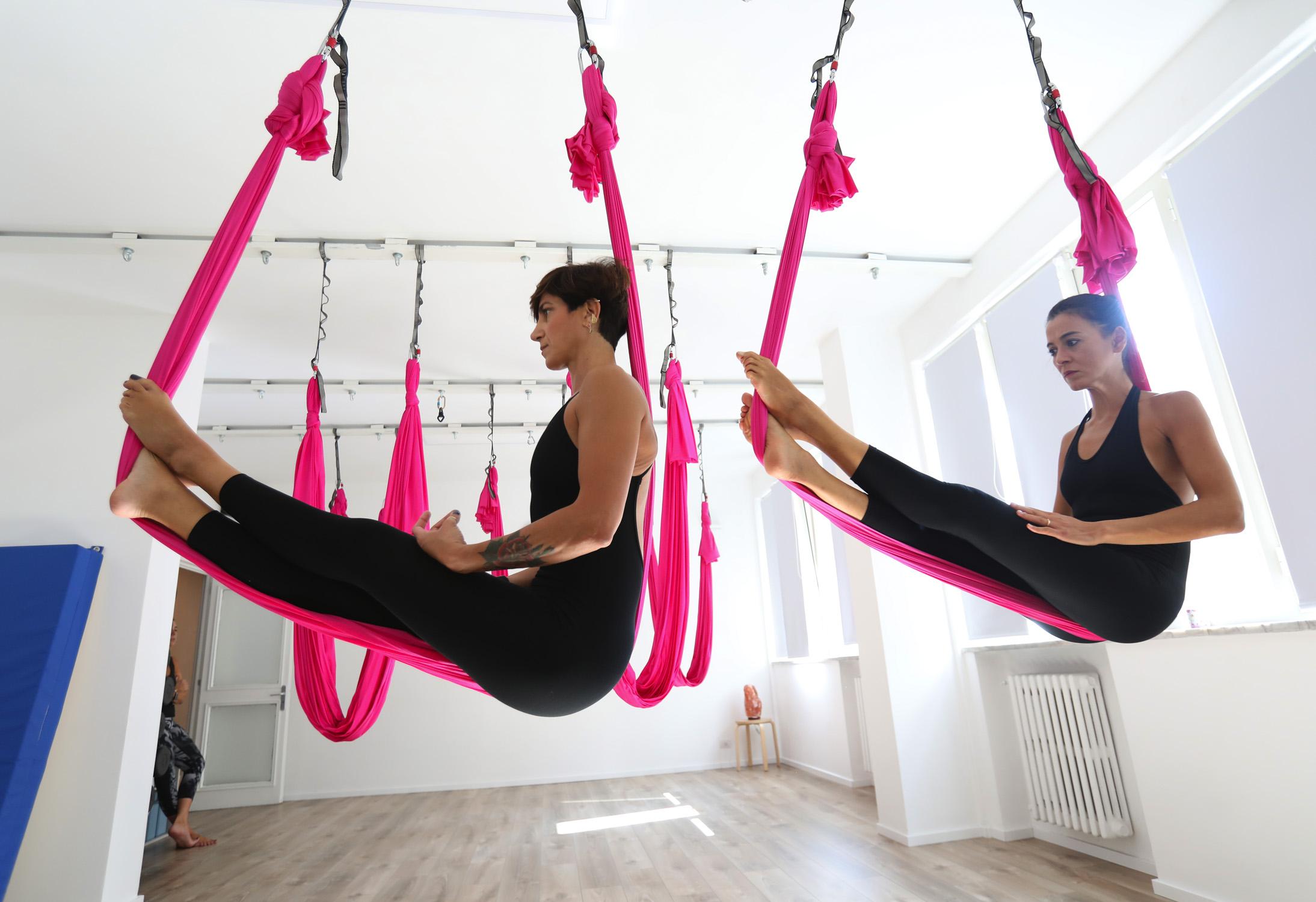 Flying Yoga Dance